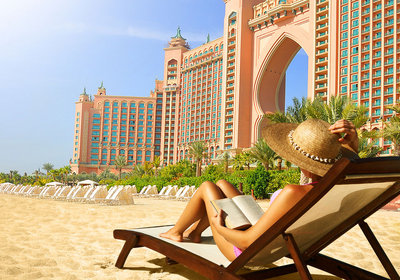 Hotel Atlantis The Palm Jumeirah Dubai Vereinigte Arabische Emirate (Foto)