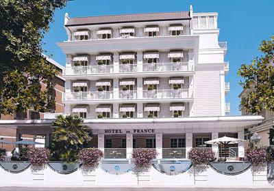 Hotel De France Rimini Italien (Foto)