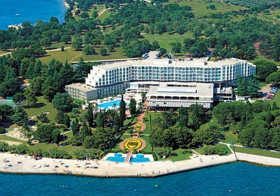 Hotel Laguna Materada Porec Kroatien (Foto)