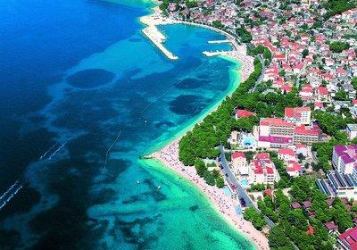 Hotel Horizont Brela Kroatien (Foto)