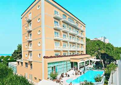 Hotel Continental Rimini Rimini Italien (Foto)