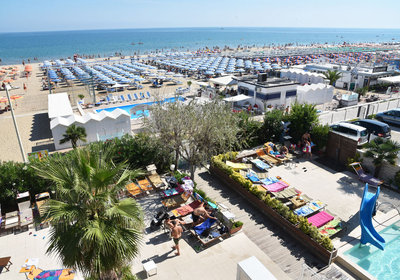 Hotel Hotel Fedora Riccione Italien (Foto)
